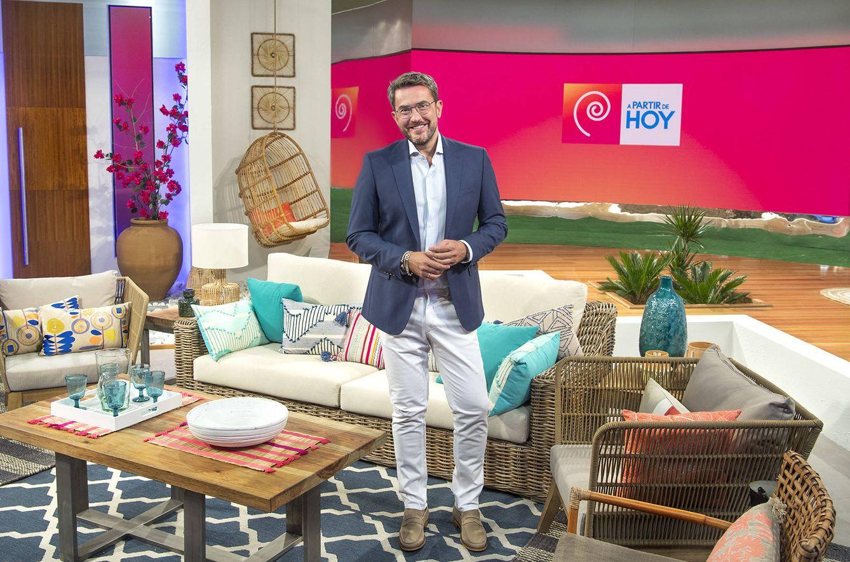 Máximo Huerta, en 'A partir de hoy'. (RTVE)
