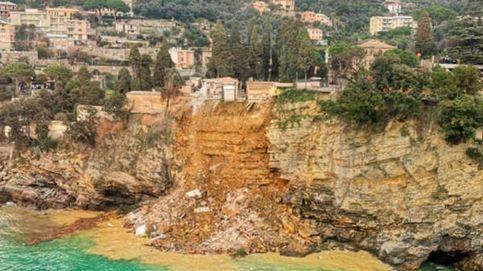 Un cementerio italiano colapsa y cientos de ataúdes terminan en el mar