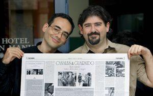 Juan Díaz Canales y Juanjo Guarnido, Nacional del Cómic