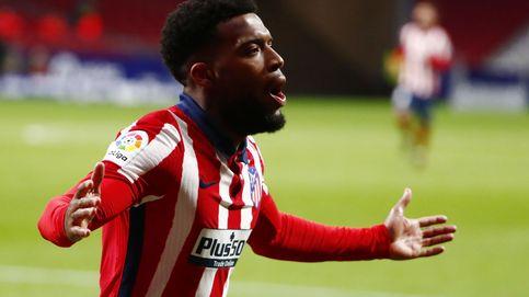 Lemar mantiene el optimismo de un Atlético de Madrid que mira a la Champions (2-0)