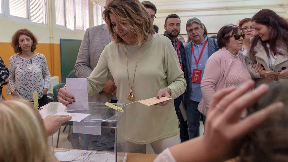 El PSOE habría ganado las elecciones generales en Andalucía con 24 diputados