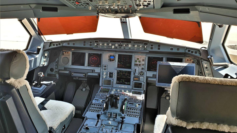 Cabina del A330 MRTT. (Juanjo Fernández)
