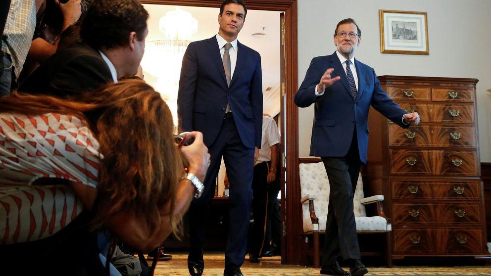 Sánchez y Rajoy hablan diez minutos y se reafirman en sus posiciones