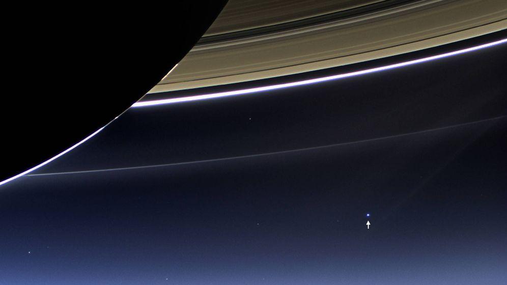 Foto: Adiós a la Cassini: sigue en directo cómo la sonda de la NASA se estrella en Saturno