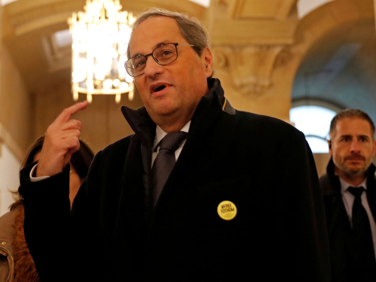 Foto: El líder del Gobierno de Cataluña, Quim Torra. (Reuters)