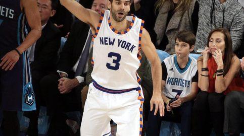 La conexión entre Calderón y Porzingis devuelve la sonrisa a New York Knicks