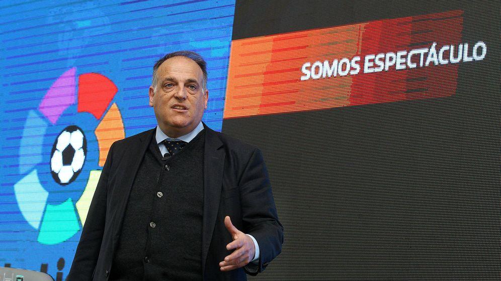 Foto: Javier Tebas. (EFE)