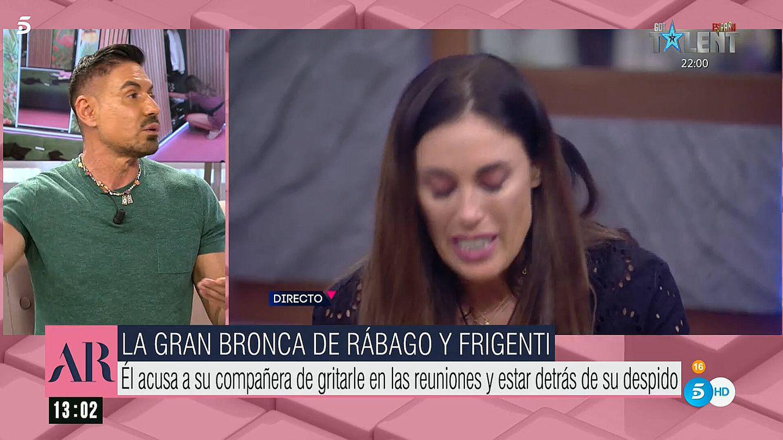 Miguel Ángel Nicolás, en 'El programa de AR'. (Telecinco)