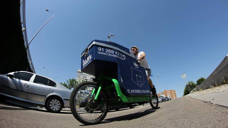 Una de las bicis de carga de Mensos.