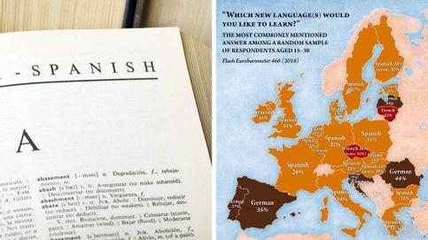¿Quiere toda Europa aprender español? Lo que hay detrás del último mapa viral