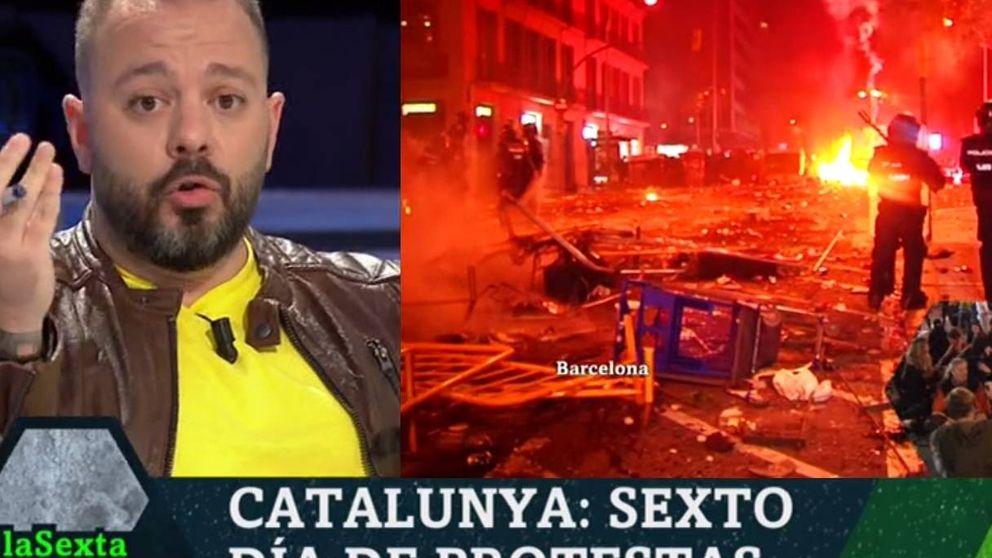 Antonio Maestre calienta el debate: La violencia en Cataluña es relativa