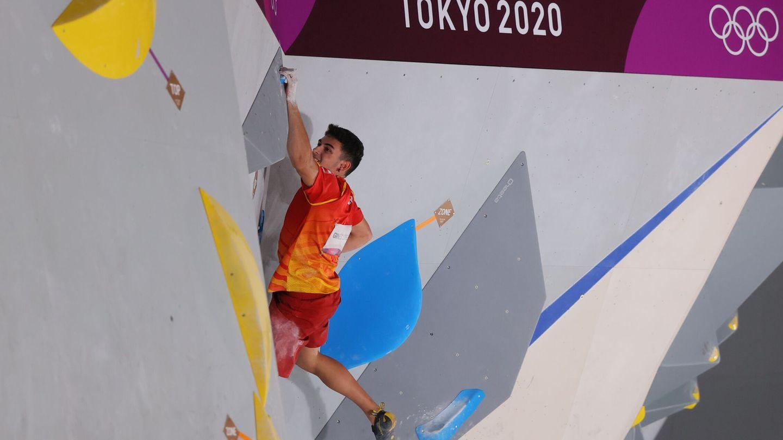 Alberto Ginés, durante la segunda de las pruebas. (Reuters)