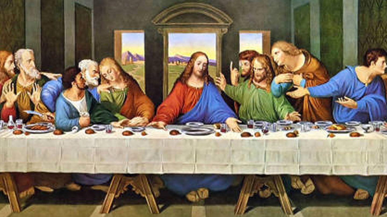 'La última cena'.