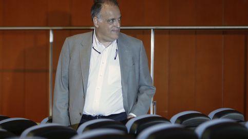 Tebas subvenciona con 45.000 euros un congreso para promocionar La Liga