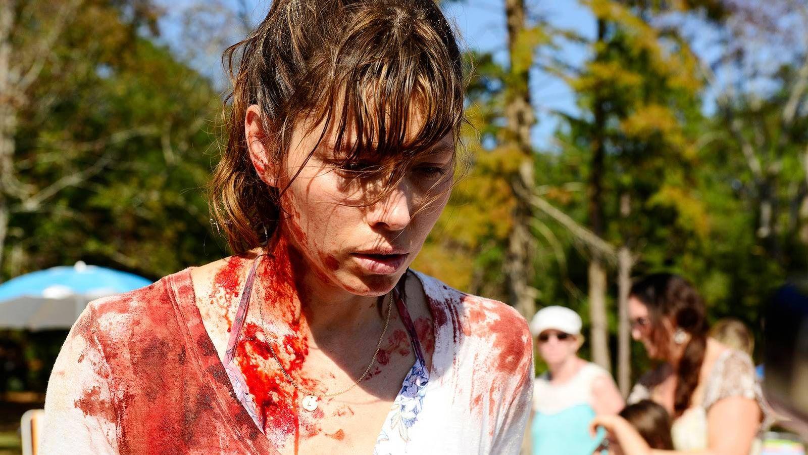 Foto: Jessica Biel, en el papel de Cora Tanetti, tras cometer un homicidio.