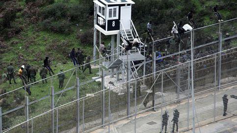 Más de 250 inmigrantes saltan la valla de Ceuta