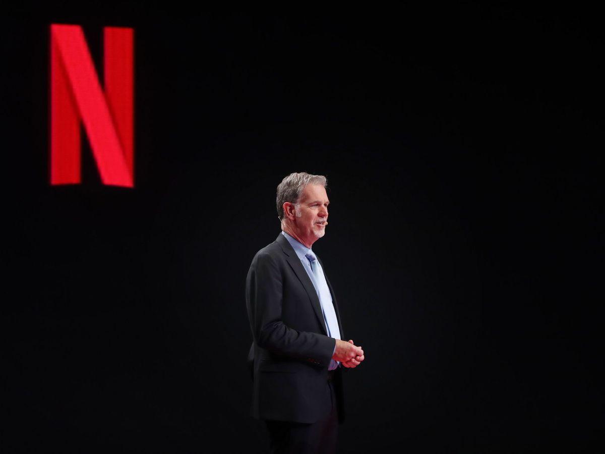 Foto: Reed Hastings, CEO de Netflix. (EFE)