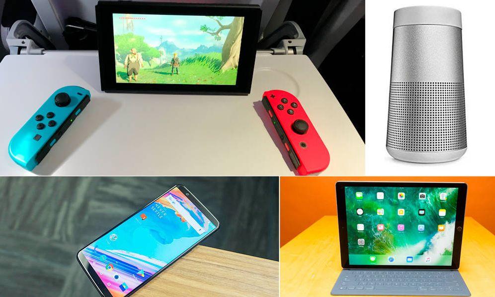 Foto: Algunos de los 'gadgets' que triunfaron en 2017.