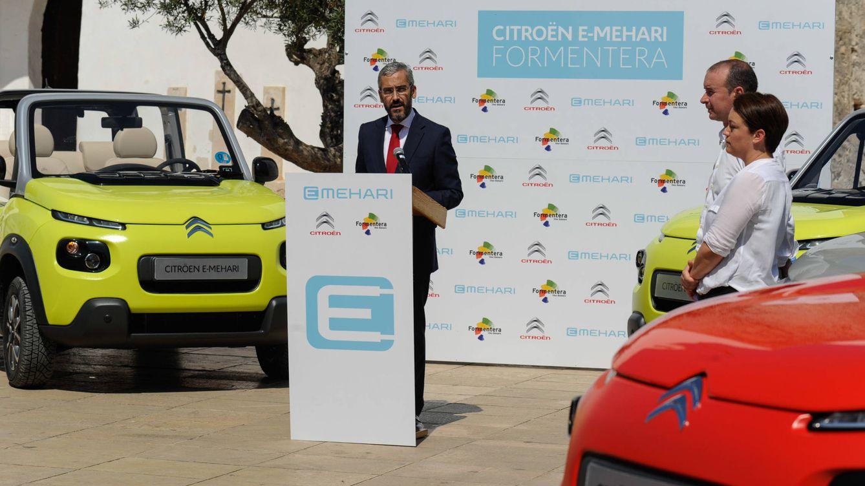 Formentera, pionera en movilidad sostenible de la mano del Citroën E-Mehari