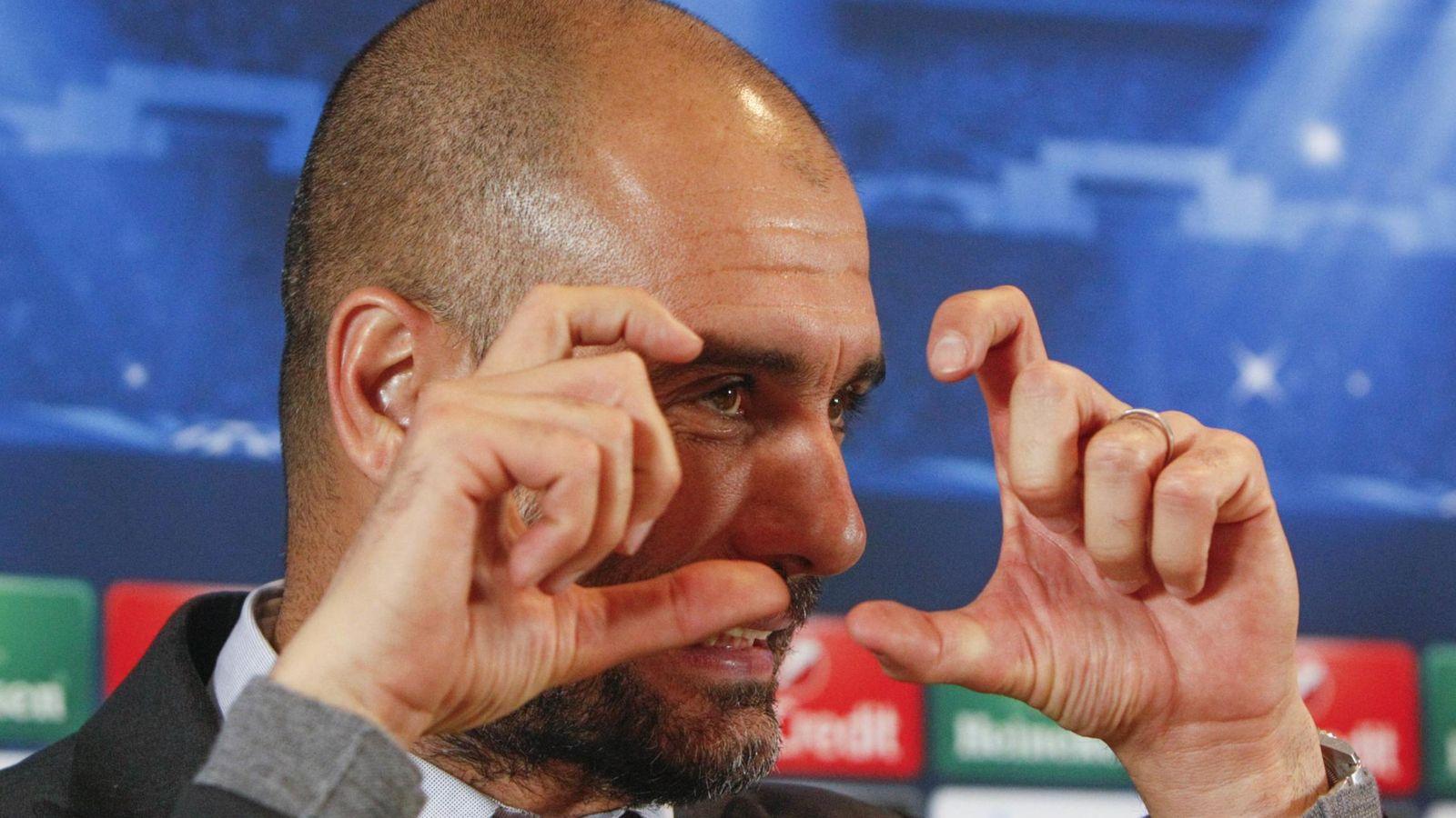 Foto: Pep Guardiola, técnico del Bayer (Reuters)