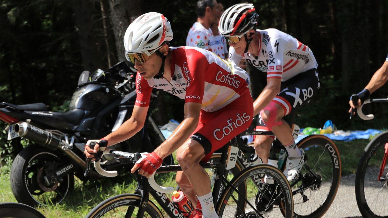 Guillaume Martin fue uno de los grandes vencedores de la jornada. (EFE)