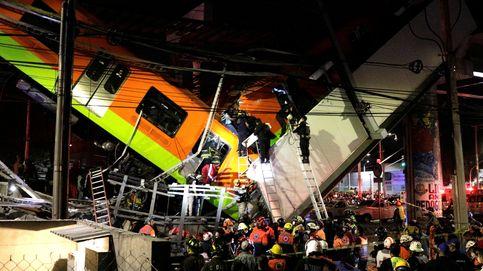 Al menos 23 muertos y 49 hospitalizados  al desplomarse un metro en Ciudad de México