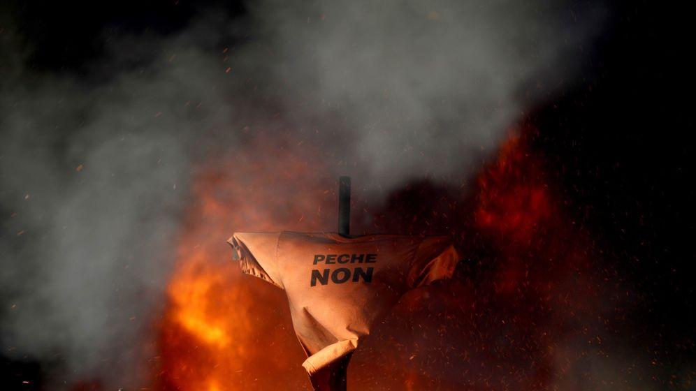 Foto: Foto de archivo de manifestaciones de Alcoa en enero de 2019. (EFE)