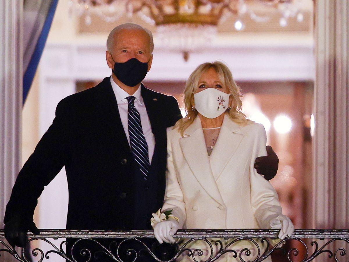 Foto: Joe y Jill Biden. (Reuters)