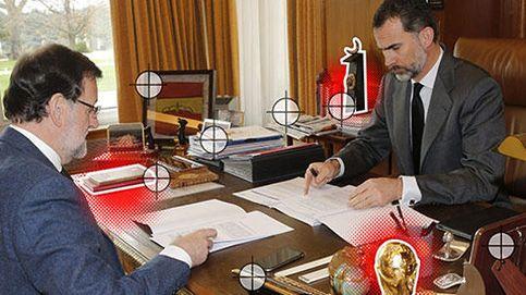 Las 22 claves del remodelado despacho del Rey Felipe VI