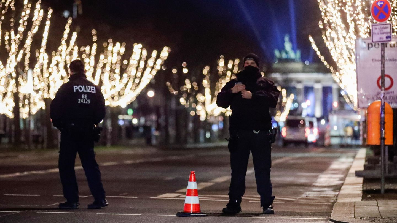 Policía en Berlín. (Reuters)