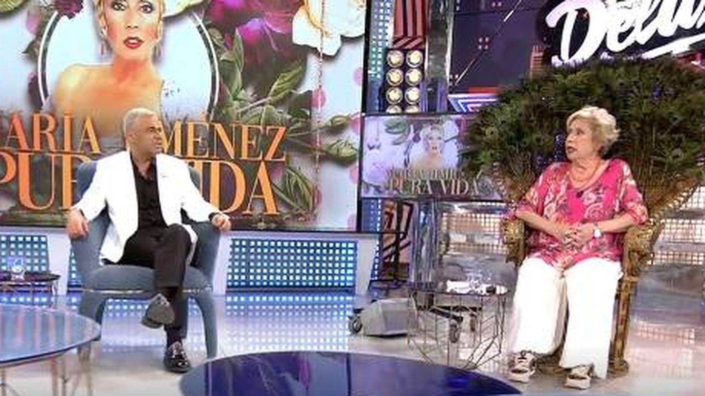 María Jiménez en 'Sábado Deluxe'. (Mediaset)
