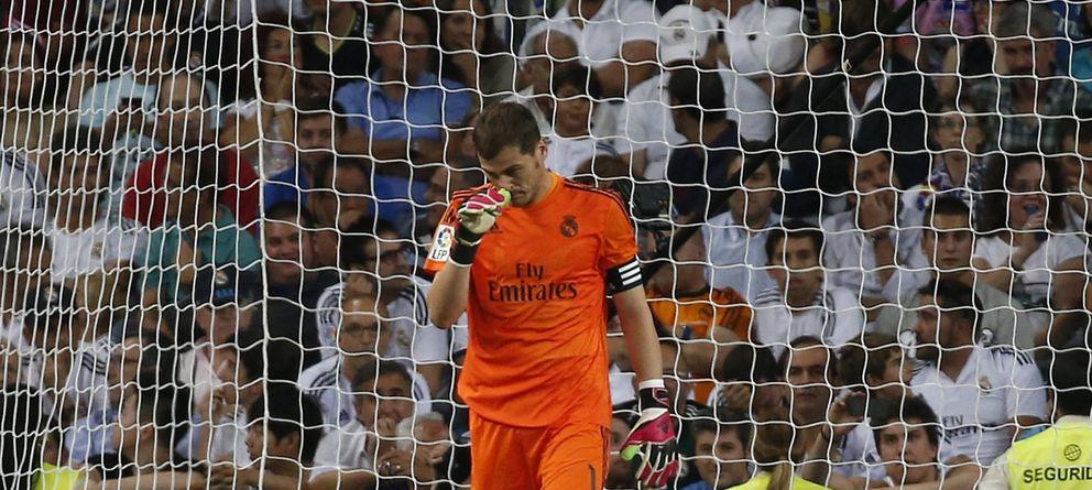 Preocupan más los pitos del Bernabéu a Iker Casillas que el futuro de Carlo Ancelotti