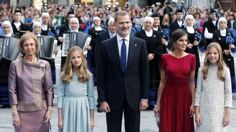 La reina Sofía, en los premios del año pasado. (EFE)