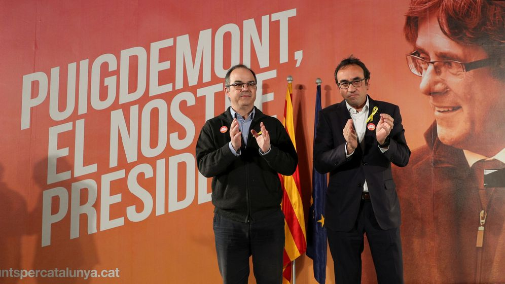 Foto: Los exconsejeros Jordi Turull y Josep Rull. (Reuters)