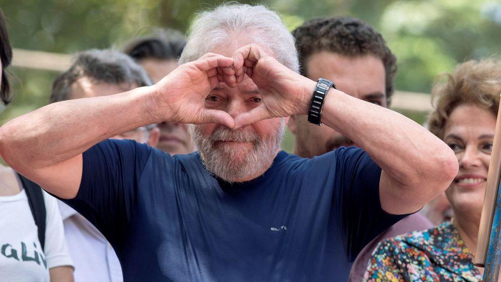 Foto: Fotografía de archivo fechada el 7 de abril de 2018, que muestra al expresidente brasileño Luiz Inácio Lula da Silva. (EFE)