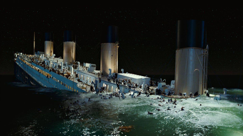 Una de las escenas del hundimiento del barco. (Fox)
