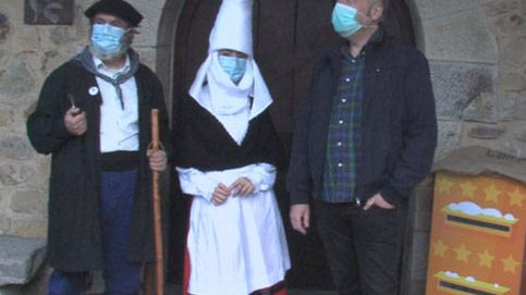 El Olentzero regaña a los niños por no escribirle en euskera