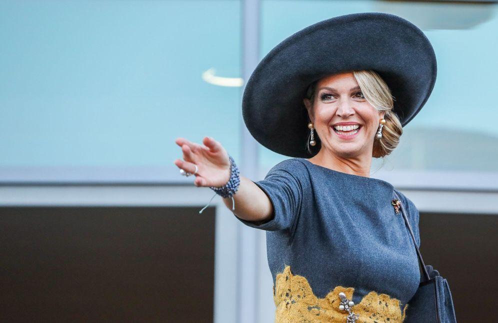Foto: La reina Máxima, en un reciente viaje a Alemania. (EFE)