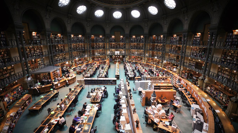 Sala Oval de la Biblioteca Nacional de Francia
