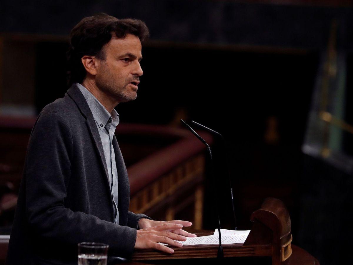 Foto: UP negocia con el PSOE que la reforma de la sedición facilite la vuelta de Puigdemont