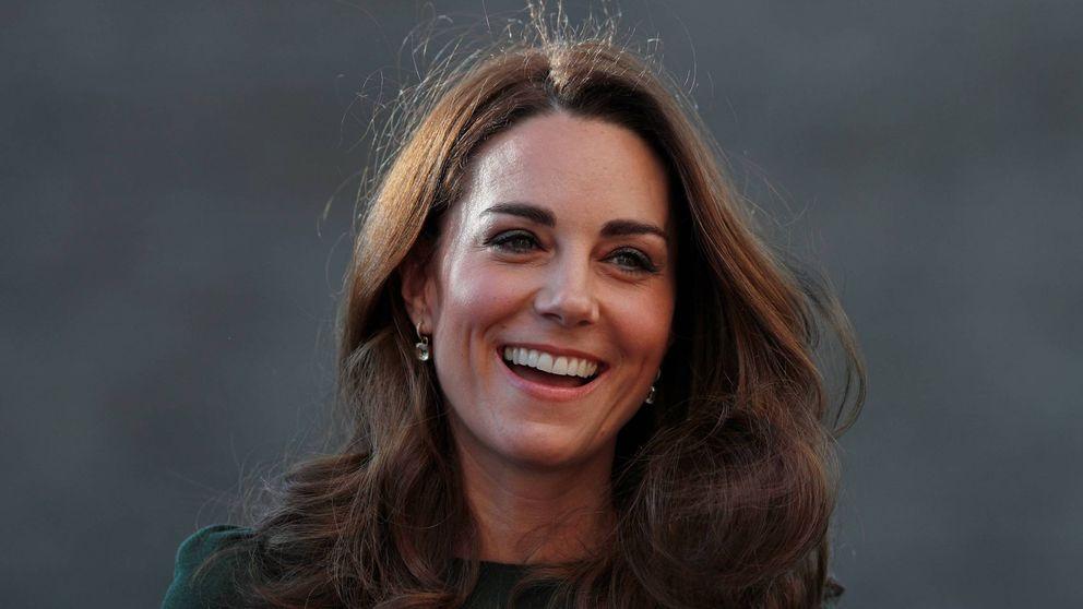 Kate apuesta todo al verde esperanza con un toque cocodrilo (y gana)