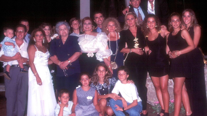 Una imagen de la familia Mohedano.