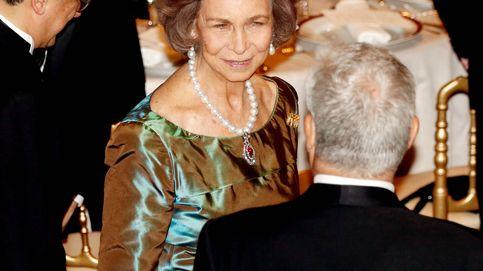 La Reina Sofía recibe la Medalla de Oro del Círculo del Liceo y entra en un club de 170 años