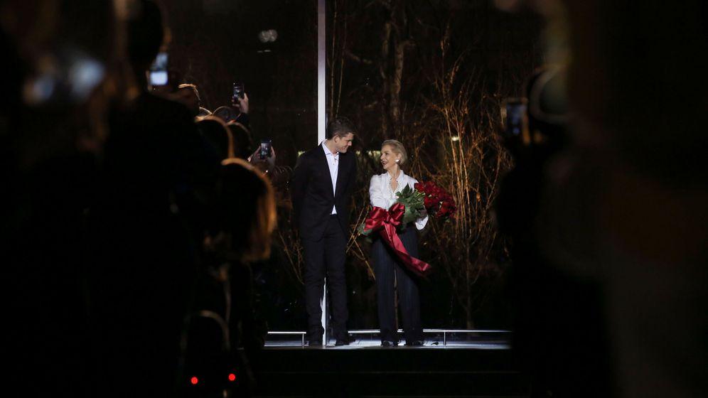 Foto: Carolina Herrera y Wes Gordon. (Reuters)