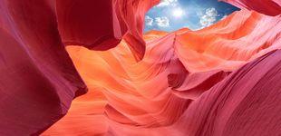 Post de El Cañón del Antílope, el gran secreto de los navajos donde se teme a la lluvia