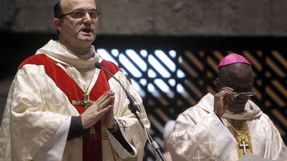 Foto: El obispo de San Sebastián, José Ignacio Munilla, durante un oficio religioso. (EFE)