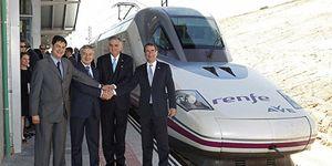 Renfe elimina el AVE a Toledo-Albacete-Cuenca por llevar sólo nueve pasajeros al día