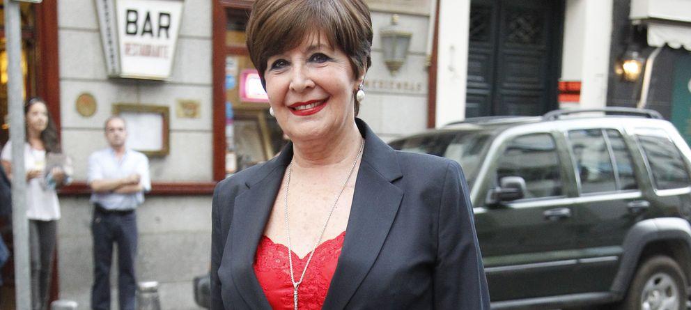 Foto: La actriz Concha Velasco en una imagen de archivo por las calles de Madrid (Gtres)
