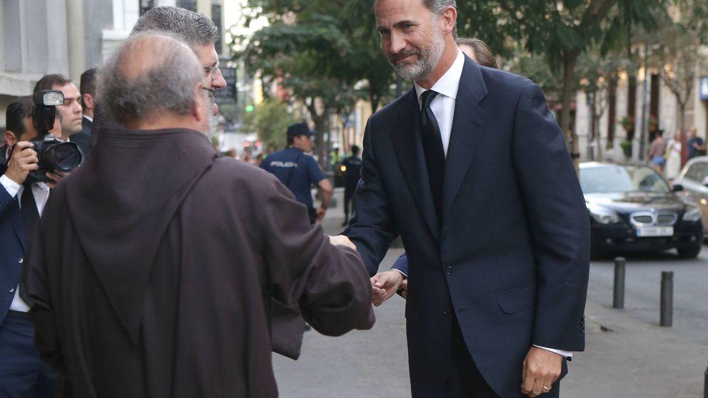 El Rey Felipe VI preside el funeral de Marco Hohenlohe