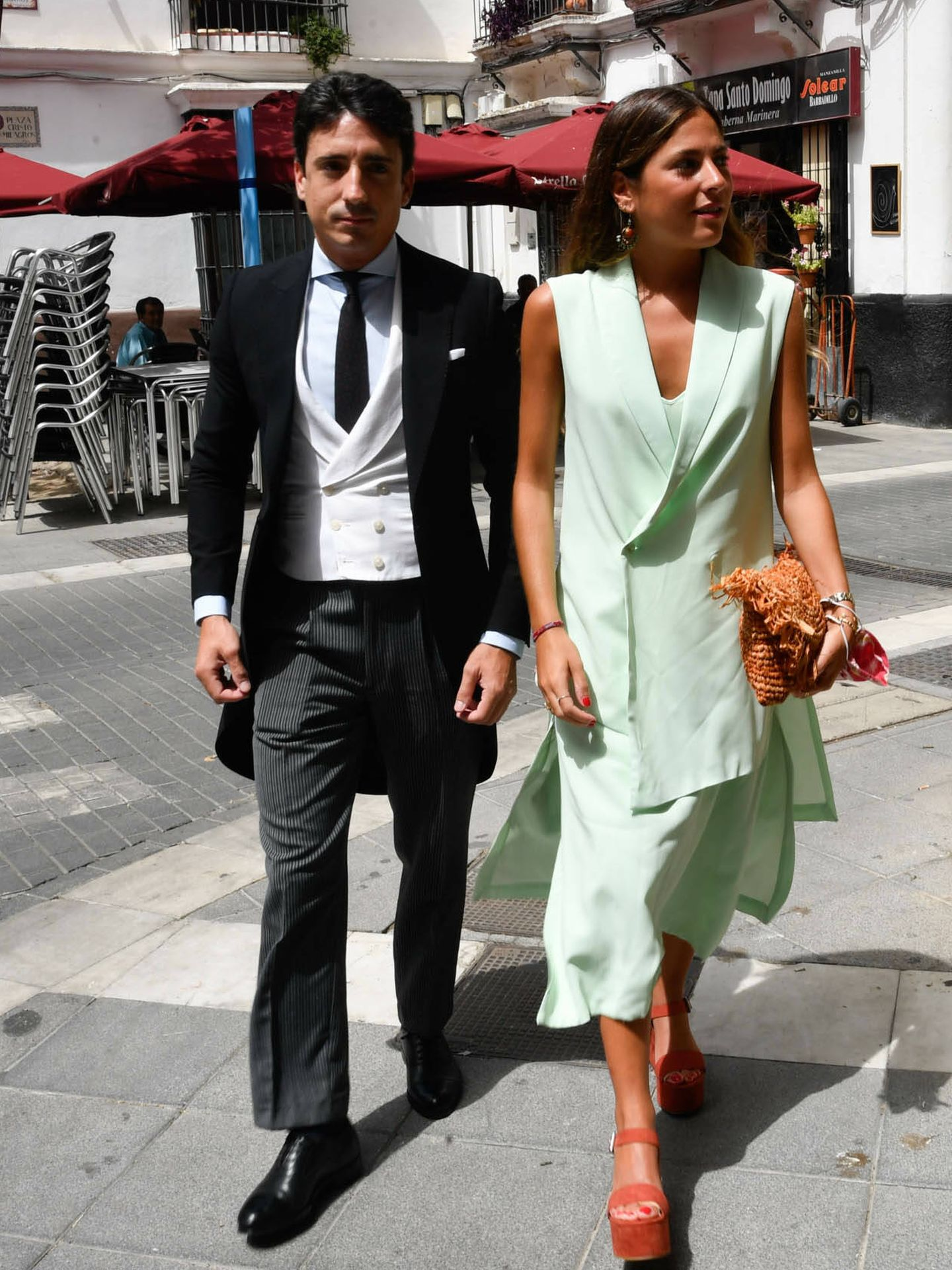 Invitados a la boda de Ymelda Bilbao. (Gtresonline)